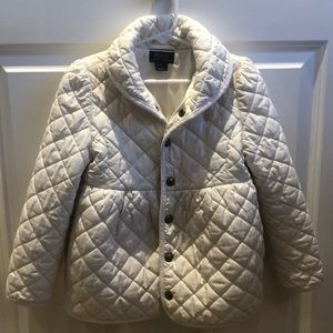 Polo Ralph Lauren quilted jacket girls 6T